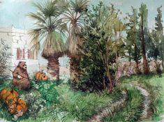 The Gardener , Deniz Acerol on ArtStation at https://www.artstation.com/artwork/qgYL2