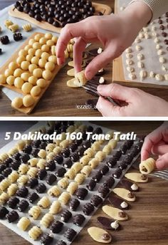160 seeds in 5 minutes – christmas decorations Food Plus, Honey Syrup, Christmas Origami, Cheesecake Brownies, Non Stick Pan, Homemade Beauty Products, Food Preparation, Catering, Food Photography