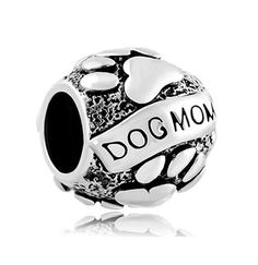 >>>Pandora Jewelry OFF! >>>Visit>> Puppy Paw Dog Mom Charm Silver Plated Beads Charms fit for Authentic pandora and european bracelets Fashion trends Fashion designers Casual Outfits Street Styles Pandora Charms, Pandora Bracelets, Pandora Jewelry, Jewelry Bracelets, Silver Bracelets, Pandora Beads, Ankle Bracelets, Silver Ring, Silver Earrings