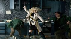 Free Download Atomic Blonde Full Movie An undercover MI6 agent is sent to Berlin during the Cold War to investigate the murder of a fellow agent and recover a missing list of double agents..