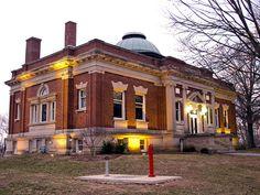Hanover College in Hanover, Indiana Near Madison, IN.