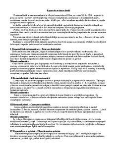 Raport de evaluare finală grupa mica | Elisabeta Guzu - Academia.edu Kindergarten, Transportation, Tattoo, Kindergartens, Preschool, Preschools, Pre K, Kindergarten Center Management, Day Care