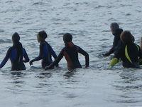 Marche aquatique côtière.
