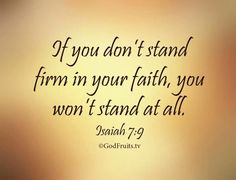 """""""Watch ye, stand fast in the faith, quit you like men, be strong. Let all your things be done with charity."""" (1 Corinthians 16:13-14). Paul's words above are directed towardall believe…"""