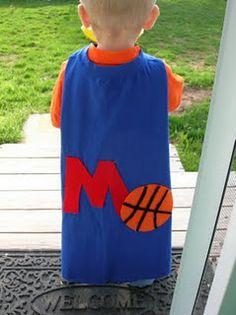 No Sew T shirt Super Hero Cape