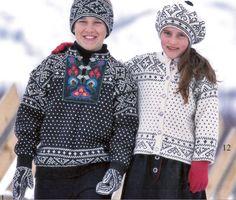 Fra Sandneshefte 9908 Til fjells. Gratis oppskrift: http://www.sandnesgarn.no/oppskrifter/9908-til-fjells