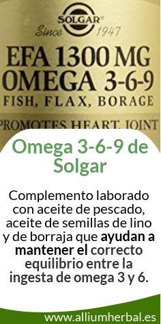 #Omega 3-6-9 de Solgar es una combinación de tres fuentes de ácidos grasos de máxima calidad especialmente recomendado para el mantenimiento de la salud #cardiovascular. Regula los niveles de #colesterol y #triglicéridos.