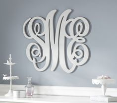 Personalized Monogram Letters