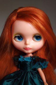1970's Kenner Blythe red hair