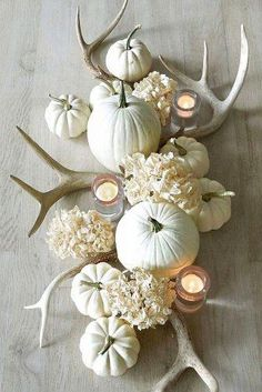 27 Incredible Ideas For Fall Wedding Decor | Wedding Forward Anemone Wedding, Fall Wedding Flowers, Fall Wedding Colors, Fall Flowers, Wedding Bouquets, Pumpkin Wedding Decorations, White Pumpkins Wedding, Fall Wedding Centerpieces, Decor Wedding