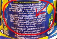 E621 is een smaakversterker die net zo gevaarlijk is als Aspartaam en verschijnt onder verschillende...