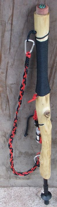 Survival Hiking Stick.