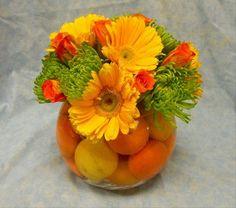 #arrangement #flowers #centerpiece