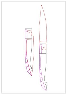 Plans, Knives, Molde, Drawings, Knife Making, Knifes
