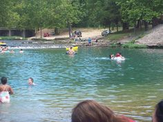 Oklahoma swimming hole - Blue Hole Park