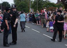 Warwickshire Police officers