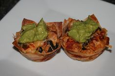 Taco Cupcakes...sounds yummy and good finger food!