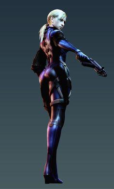 Jill Valentine, Resident Evil 5. I always did like that outfit!  -  #residentevil