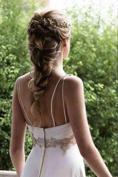 Bride Hairstyles, Summer Hairstyles, Easy Hairstyles, Bridesmaid Hair, Prom Hair, Make Up Braut, Hairdo Wedding, Braut Make-up, Wedding Hair Inspiration