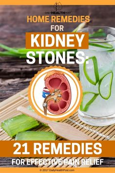 21 Home Remedies For Kidney Stones To Clear Your Urinary Tract