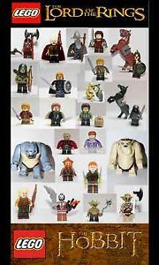 Lego Lord of The Rings The Hobbit Minifigures Dwarf Elf Orc U Choose | eBay