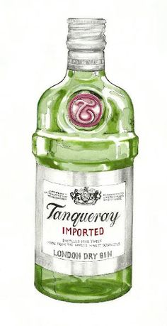 Tanqueray Gin by GingerCookie91 on Etsy, $10.00