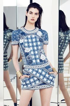 Balmain Resort 2014-Paris.