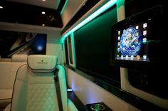 Mercedes-Benz Sprinter 2500 Crew Luxury Van Creston home system
