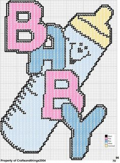 """BABY"" BOTTLE WALL HANGING by CRAFTSANDTHINGS2004"