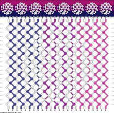 Friendship Bracelet Pattern 15579 new