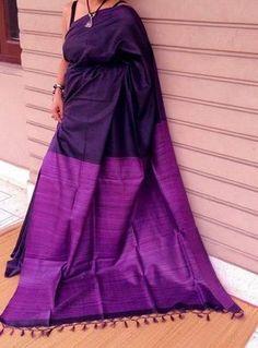 Saree – Page 2 – Beautiful Saree Silk Saree Kanchipuram, Silk Sarees, Saris, Indian Attire, Indian Outfits, Indian Clothes, Indian Wear, Indian Style, Purple Saree