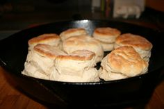 Southern Sunday Biscuits.  only 6 ingredients.