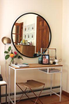 vittsj as entryway table and vanity