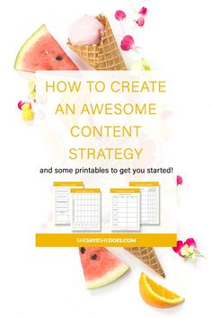 Google loves content but Google loves great content more. Stay ahead of the game and learn what a content strategy is and how what you should include in yours. Whether you're a Entrepreneur or Blogger, this is one tip you'll forever be grateful for.