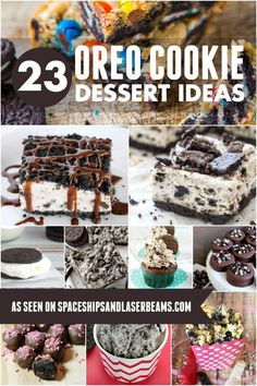 23 Oreo Cookie Dessert Ideas