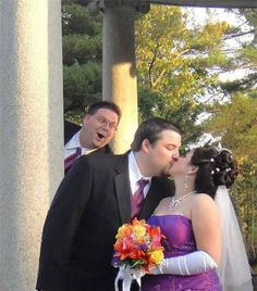 This Guy Had To See The Special Moment