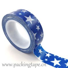Blue star #www.packingtape.cn#