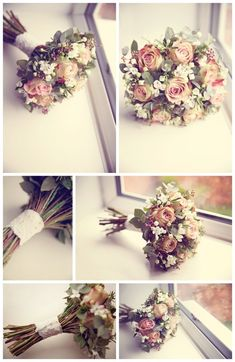 Gorgeous Vintage wedding bouquet - Fiori By Lynne