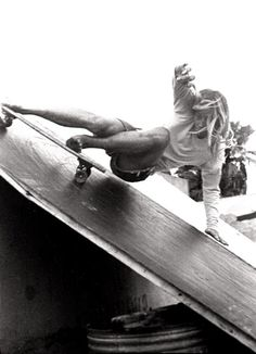 1970s skater photographed by David Scott, California, 1970s.
