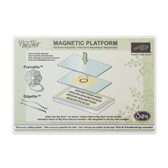 Stampin' Up! Magnetic Platform~ Oh how I love it! I have a pacemaker too! Click here for advice on how to use it with a pacemaker