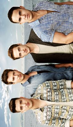 FROM LEFT TO  RIGTH : LOGAN HENDERSON ! / JAMES MASLOW ! / KENDALL SCHMIDT ! / CARLOS PENA !