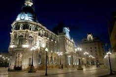 Plaza Ayuntamiento, Cartagena, Murcia -