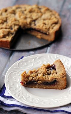 A classic Austrian pastry gets an American twist in this peanut butter and jelly linzer torte, in which two peanut buttery layers of shortbread are filled with a layer of grape jelly to make a delicious cookie sandwich.