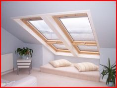 interior Velux Fakro Roof lights skylights roof windows
