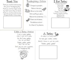 Printable poems month-by-month--good reading fluency practice