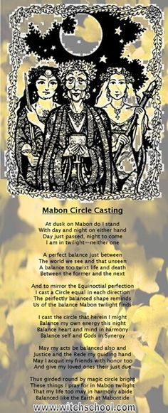 Mabon Circle Casting #wicca #witchcraft