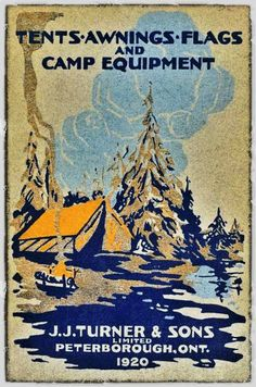 Vintage Canvas Equipment Co. poster