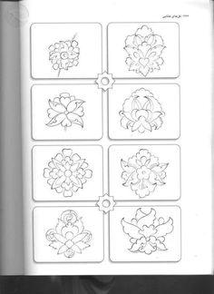 15 Islamic Motifs, Islamic Art Pattern, Arabic Pattern, Pattern Art, Persian Pattern, Persian Motifs, Arabic Calligraphy Art, Arabic Art, Arabesque