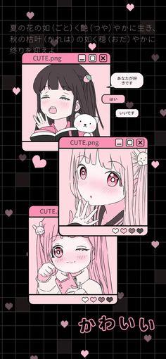 Whats Wallpaper, Goth Wallpaper, Anime Wallpaper Phone, Sanrio Wallpaper, Iphone Background Wallpaper, Aesthetic Pastel Wallpaper, Anime Scenery Wallpaper, Kawaii Wallpaper, Cute Wallpaper Backgrounds