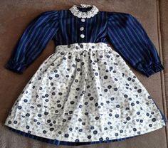 Puppenkleid-blau-Nr-1